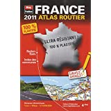 2011 mini atlas routier plastifi Francepar Blay-Foldex