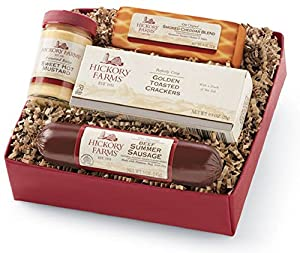 Hickory Farms Beef Hickory Sampler Gift Box Item #009811