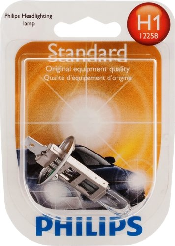 Philips H1 Standard Replacement Bulb , (Pack of 1)