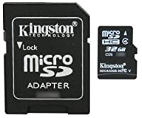 Professional Kingston MicroSDHC 32GB (32 Gigabyte) Card for Samsung Galaxy S3 Mini Smartphone with custom formatting and Standard SD Adapter. (SDHC Class 4 Certified) by Kingston