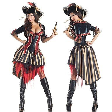 ANDP Extravagant Pirate Adult Women's Carnival Costume