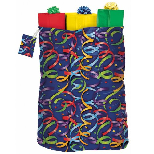Celebration Streamers Giant Gift Sack Party Accessory