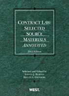 Contract Law: Selected Source Materials Annotated, 2012 (American Casebook Series)