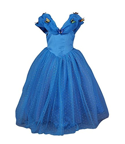 Ella Blu 2015 New Cinderella Dress Princess Costume Butterfly Girl