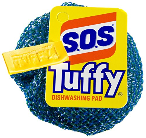 S.O.S Tuffy Dishwashing Pad, 1 Count (Pack of 24) (Colors May Vary) (Dishwashing Pad compare prices)