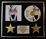 INXS/CD DISPLAY/LIMITED EDITION/COA/THE GREATEST HITS