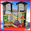 Hamster Cage Beckingham Palace Extra Large by Posh Pets