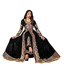 Neelkanth Women's Georgette Semi Stitched Dress Material (FB-6018_Multi-Coloured_Free Size)