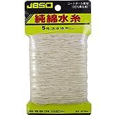 JBSO (ジェビソー) 純綿水糸 5号 100m G-23004