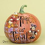Jim Shore for Enesco Disney Traditions Pumpkin Trick or Treat Figurine, 7-Inch