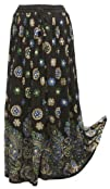 BombayFashions 'LOWEST PRICE Guaranteed!' DISCOUNTED Black Full/Ankle Length LINED Sequin Bohemian…