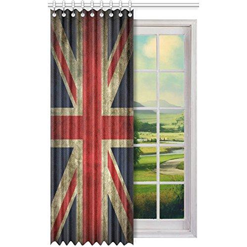 Union Jack Blackout Window Curtain/Panel 52