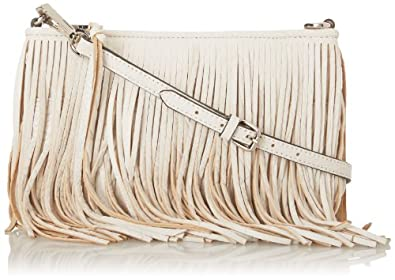 Rebecca Minkoff Finn Cross Body Bag,White,One Size