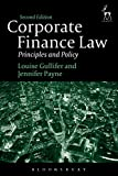 Corporate Finance Law: Principles and Policy