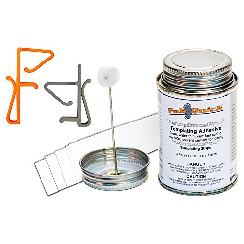 Fabquick Templatepro T Deluxe Templating Kit back-406593