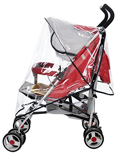 Marrywindix Universal Clear Waterproof Rain Cover Wind Shield Fit Most Strollers Pushchairs - 1