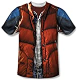 Back to the Future - Mcfly Vest T-Shirt Size M