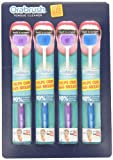 Orabrush Tongue Cleaner, 4 Count