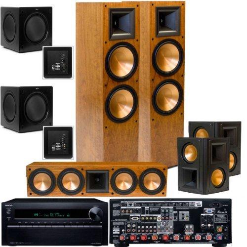 Klipsch Rf-7Ii 5.2 Theater System-2 Each! Sw-310-Onkyo Tx-Nr1010 7.2 Thx