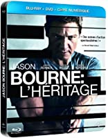 Jason Bourne : L'Héritage [Edition Limitée - Boitier Métal - DVD + Blu-Ray + Copie Digitale] [Combo Blu-ray + DVD - Édition boîtier SteelBook]