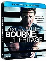 Jason Bourne : L'Héritage [Edition Limitée - Boitier Métal - DVD + Blu-Ray + Copie Digitale] [Blu-ray]