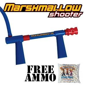Marshmallow Blower Gun - Marshmallow Shooter w/ Free Bag of Ammo