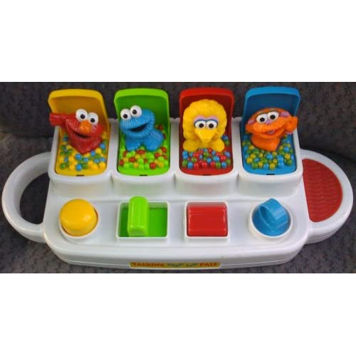 Amazon.com: Sesame Street Elmo Talking Pop up Pals Toy