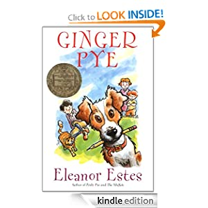 Kindle Book Bargain: Ginger Pye (Young Classic), by Eleanor Estes. Publisher: Harcourt Children's Books; 1st Harcourt Young Classics Ed edition (September 1, 2000)