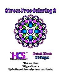 Stress Free Coloring 2 - Spiral Bound