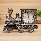 Vakind Creative Retro Train Desk Alarm Clock Birthday Xmas Novelty Gift
