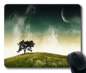 "1 X Alien Landscape Custom Rectangle Rubber Mouse Pad Oblong Gaming Mousepad in 220mm*180mm*3mm (9""*7"") -100832"