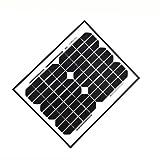 ALEKO® 10W 10-Watt Monocrystalline Solar Panel