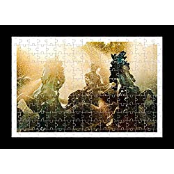 Collins Puzzle (YYP50827) Puzzle Style (Pre-assembled) Wall Print