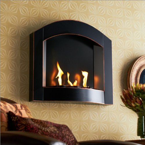 Southern Enterprises Wall Mount Arch Fireplace