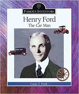 a biography of henry ford the automobile inventor Henry ford was born on this day in 1863 he is seen here in his first car built in  1896 the photograph has been painted with the stars and.