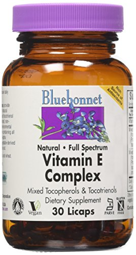 BlueBonnet Full Spectrum Natural Vitamin E Complex Liquid Capsules, 30