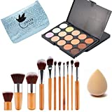 Lover Bar 15 Färben Concealer Palette-Beauty Kosmetika Deckend Corrector Creme