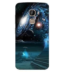 ColourCraft The Galaxy Design Back Case Cover for LeEco Le 2
