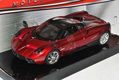 pagani-huayra-coupe-rojo-1-24-motormax-modelo-auto-mit-oder-ohne-individiuellem-wunschkennzeichen