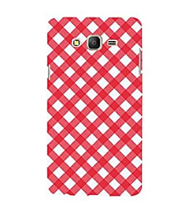 99Sublimation Animated Pattern OF houndstooth 3D Hard Polycarbonate Back Case Cover for Samsung Galaxy On5 :: Pro