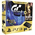 Console PS3 Ultra slim 500 Go noire + Gran Turismo 6 - �dition sp�ciale + The Last of Us