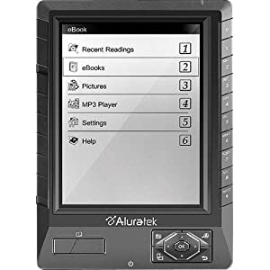 Aluratek LIBRE AEBK01FS Digital Text Reader (AEBK01FS)