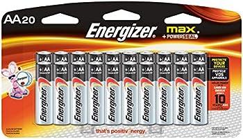 20-Pack Energizer Max AA Alkaline Batteries