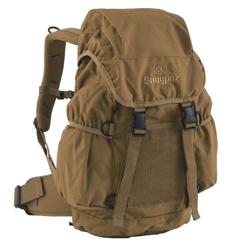 B001ADUD9O Snugpak Sleeka Force 35 Rucksack Backpack Coyote Brown