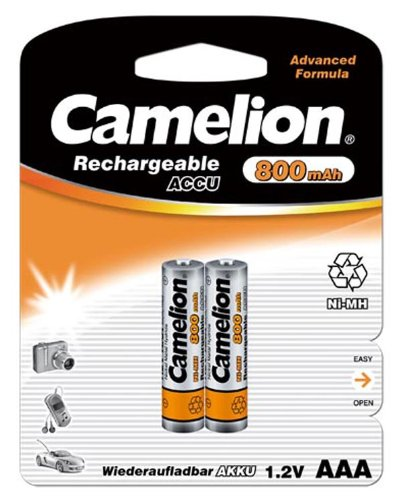 Camelion 17008203 2 accus R03 / AAA / 800mAh sous blister