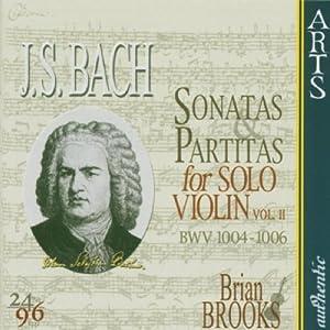 Js Bach Sonatas Partitas For Solo Violin Vol 2 by Arts Music