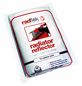 Radflek Radiator Reflectors (5 Sheets, Fits 5-10 Radiators)