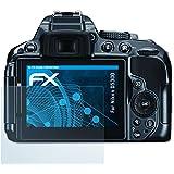 3 x atFoliX Nikon D5300 Film protection d'écran Film protecteur - FX-Clear ultra claire