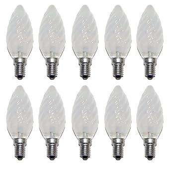 Kerze Glühbirne 25W E14 BLAU Glühlampe 25 Watt Kerzen Glühbirnen bunt Party Deko