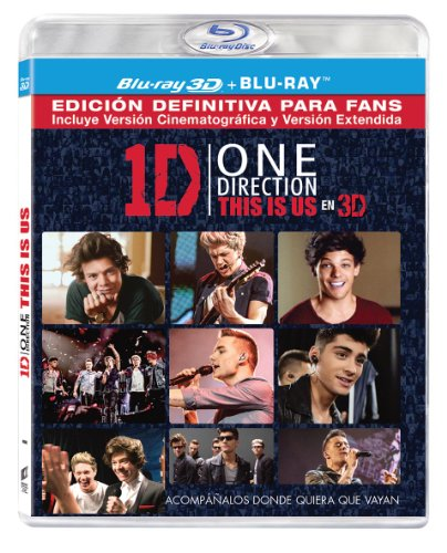 One Direction: This Is Us (BD + BD 3D) [Blu-ray]